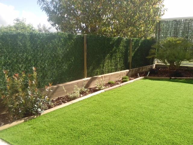 Colocaci n de c sped artificial tecniver jardineria - Colocacion cesped artificial ...