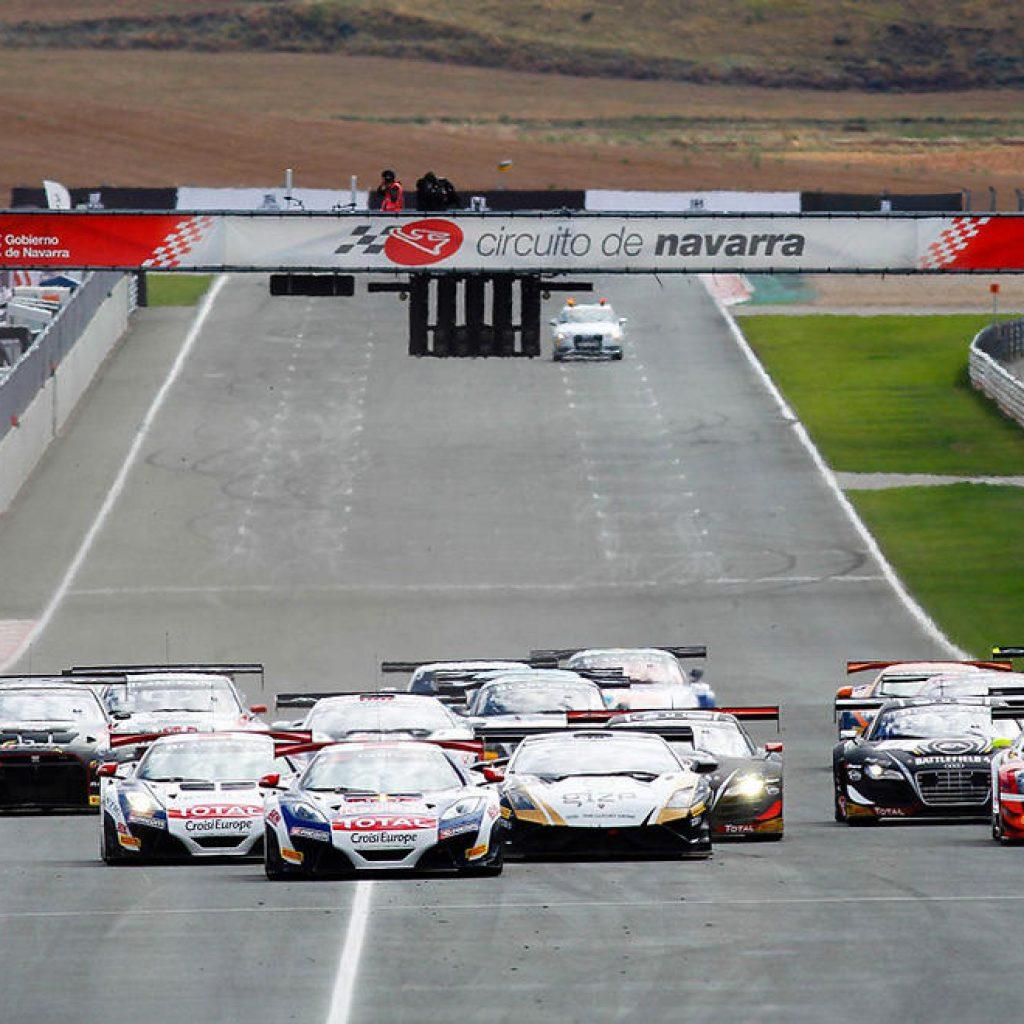 Circuito Navarra : Fernando alonso y su mclaren se estrenan en el circuito de navarra
